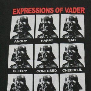 STAR WARS Expressions of Vader Photo Panel Tee